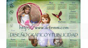Calendario princesa sofia