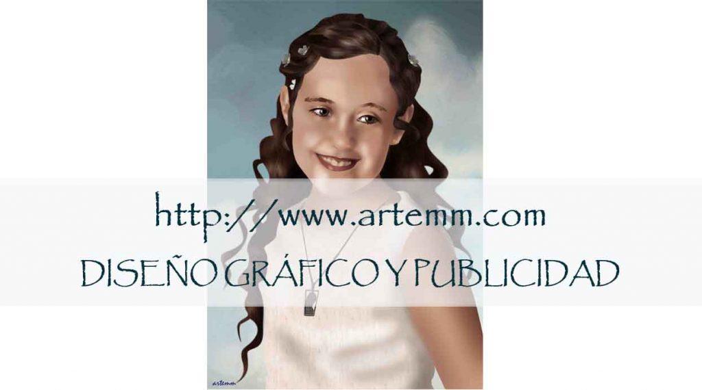 Retrato Princesa comunión
