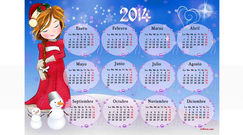 SALVAMANTEL CALENDARIO MAMÁ NOEL