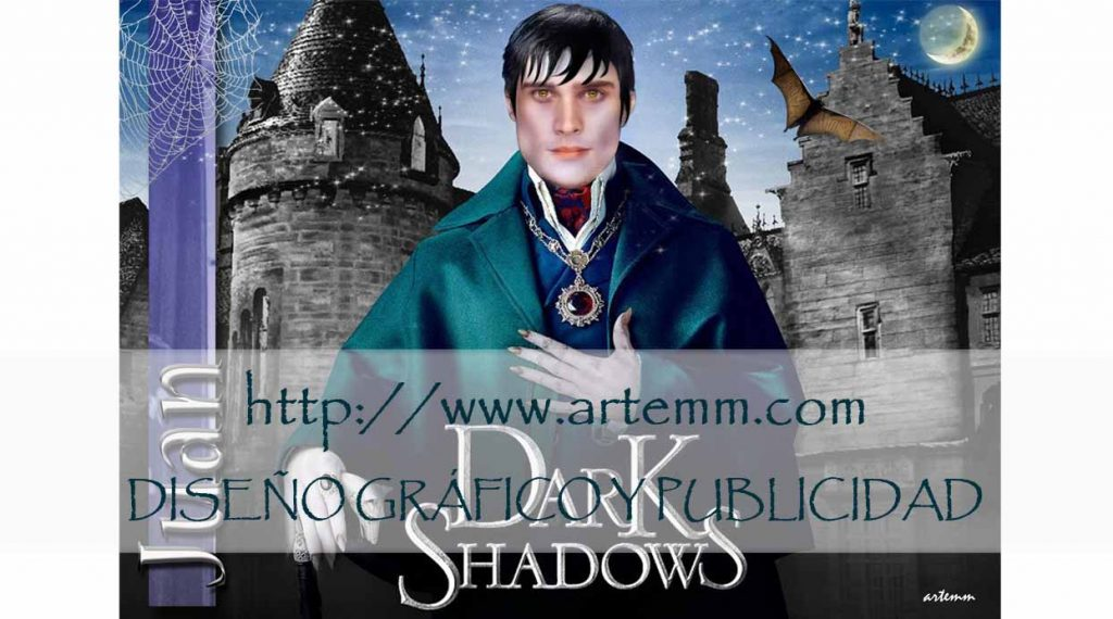 SALVAMANTEL Dark Shadows