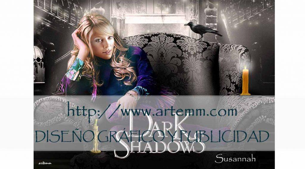 SALVAMANTEL Dark Shadows 2