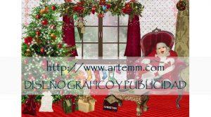 Salvamantel navideño 2