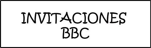 Categoría de Invitaciones BBC