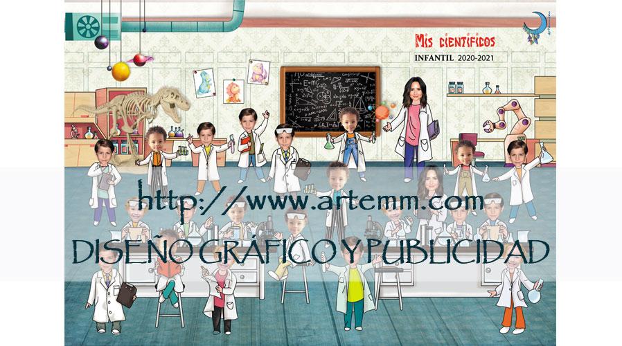 Orla infantil Mis científicos